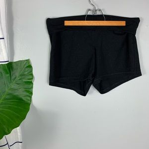 Old Navy Active Black Fold Over Shorts